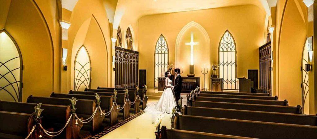 赤坂ル・アンジェ教会_赤坂(福岡)の結婚式場人気ランキング
